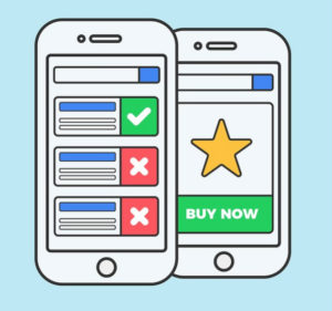 mobile surveys and shopping on mobile